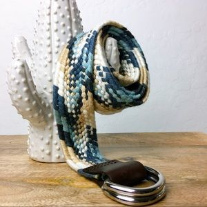 Eddie Bauer Tribal Multi Color Adjustable Belt
